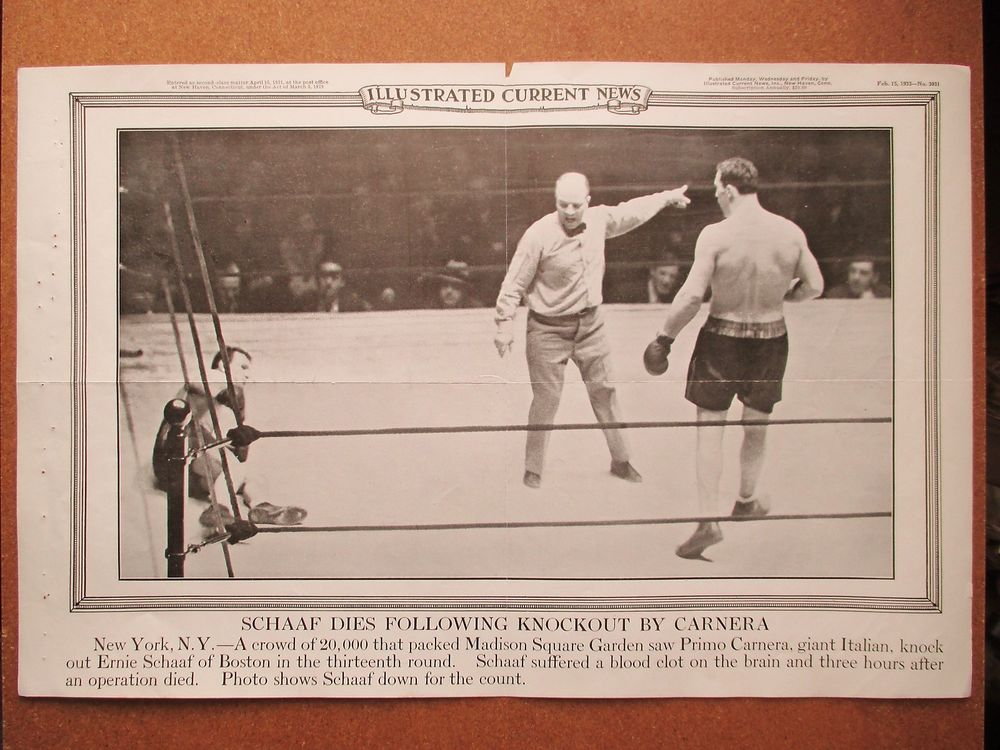 Primo Carnera vs. Ernie Shaef