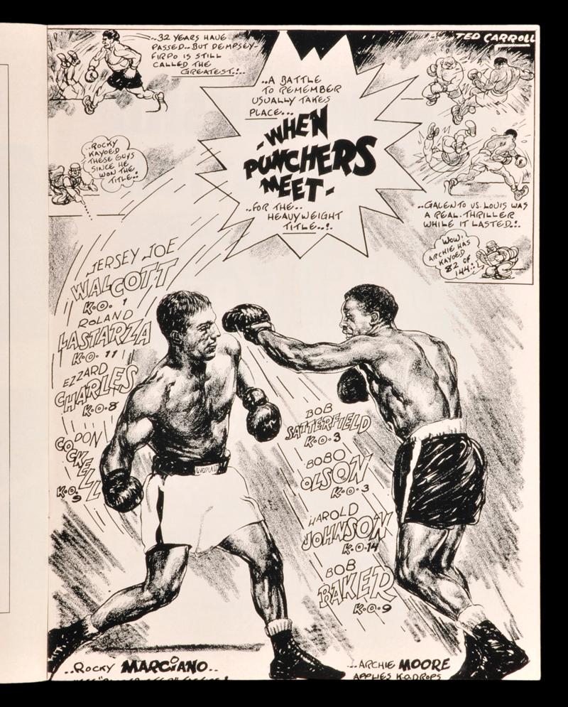 Rocky Marciano vs. Archie Moore