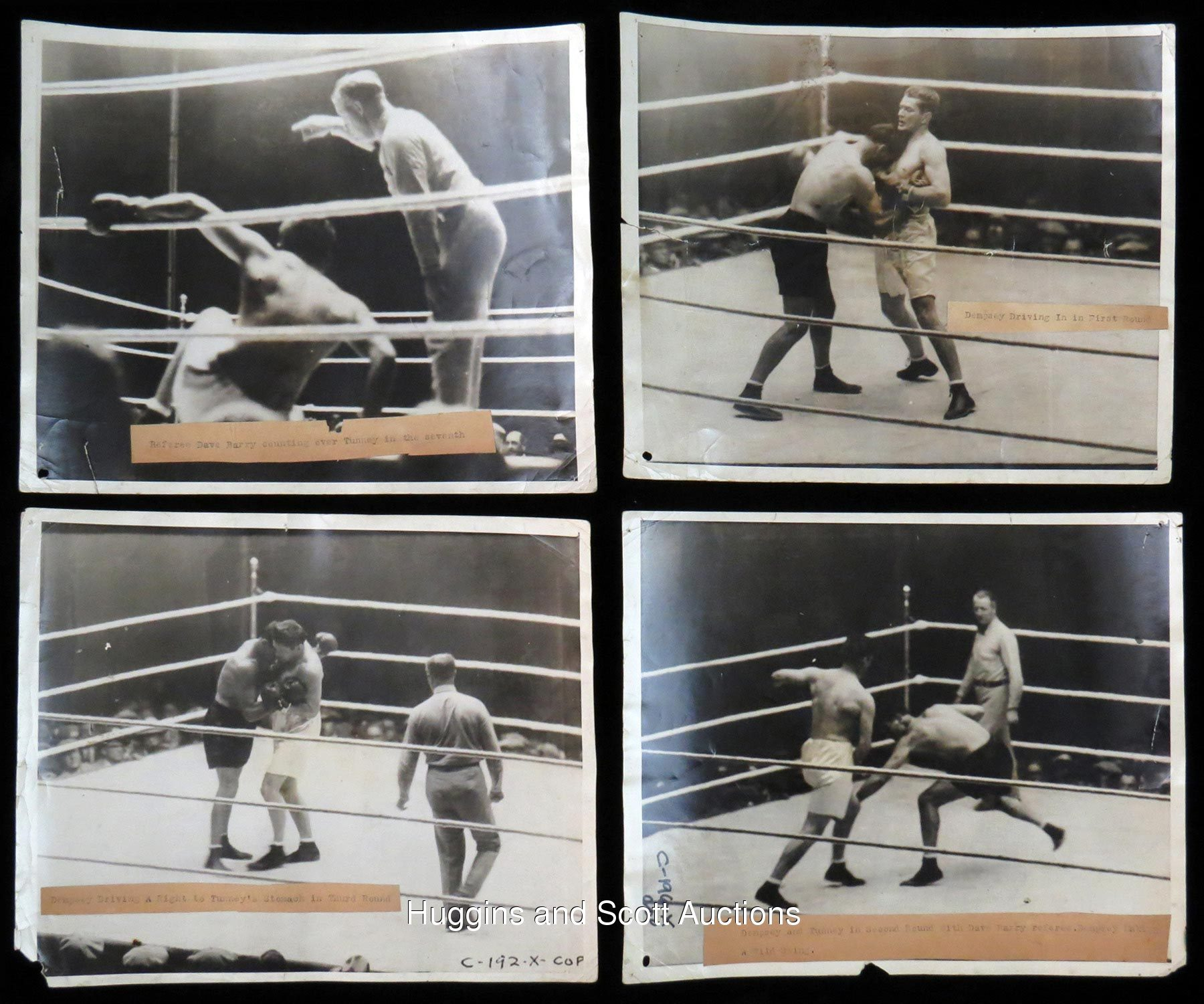 Dempsey vs. Tunney II in 1927 (CLICK ON PHOTO TO VIEW FIGHT CLIP)