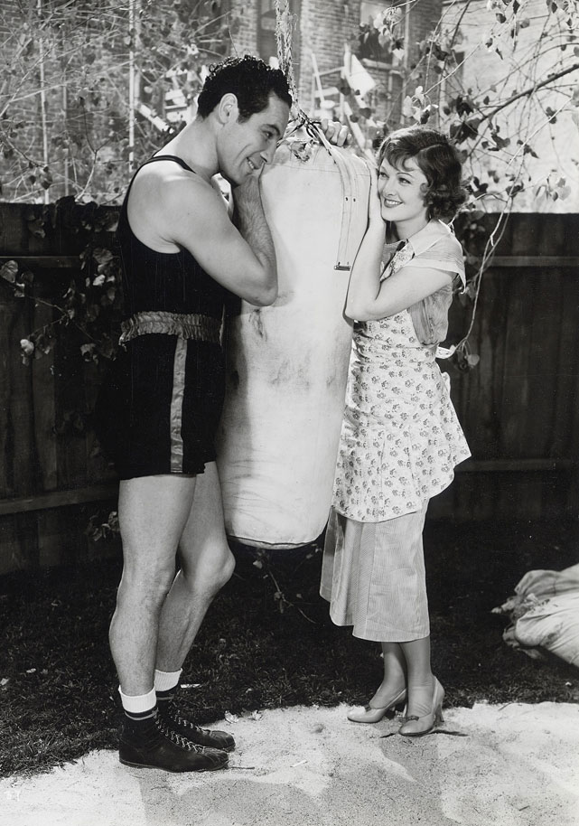 baer and myrna loy great photo