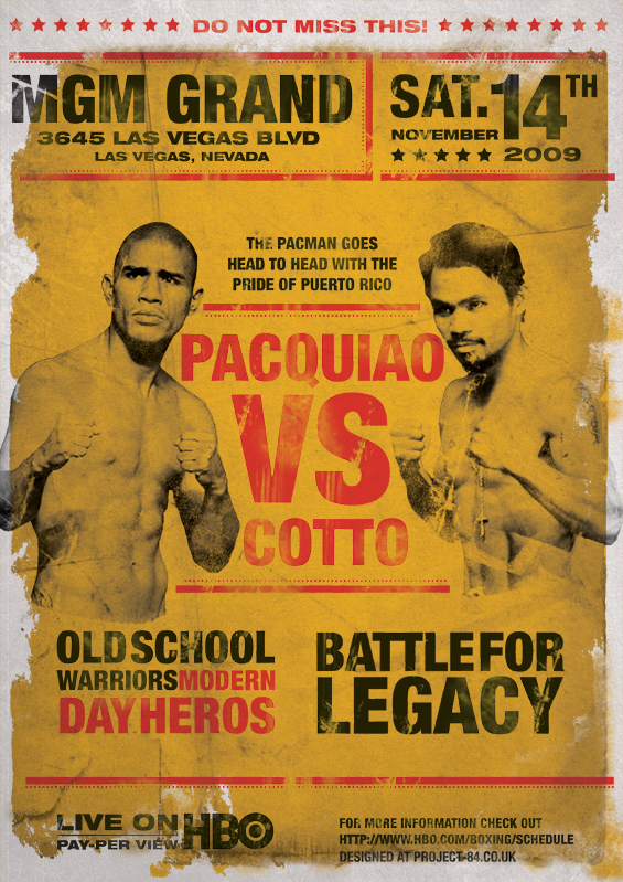 boxing poster#16