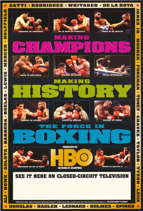boxing poster#39