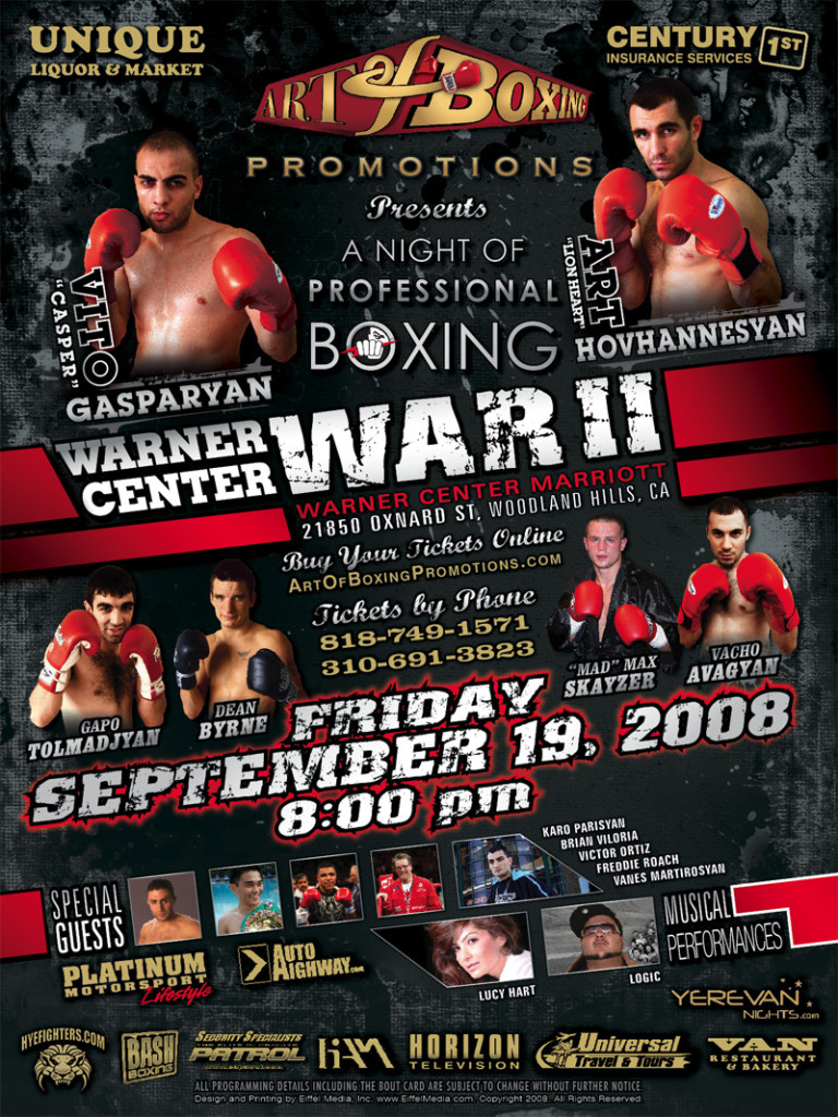 boxing poster#55