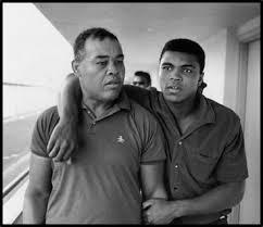 Joe Louis with Muhammad Ale