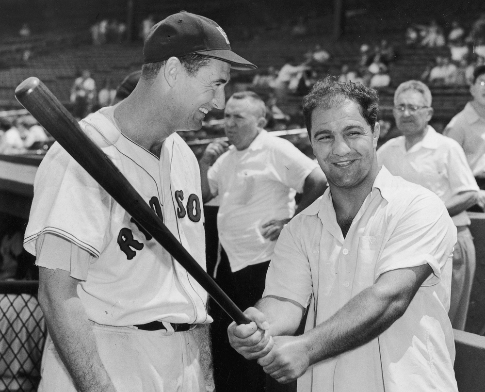 marciano and ted williams