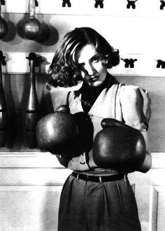 Screen Star Barbara Stanwyck in the 1940's