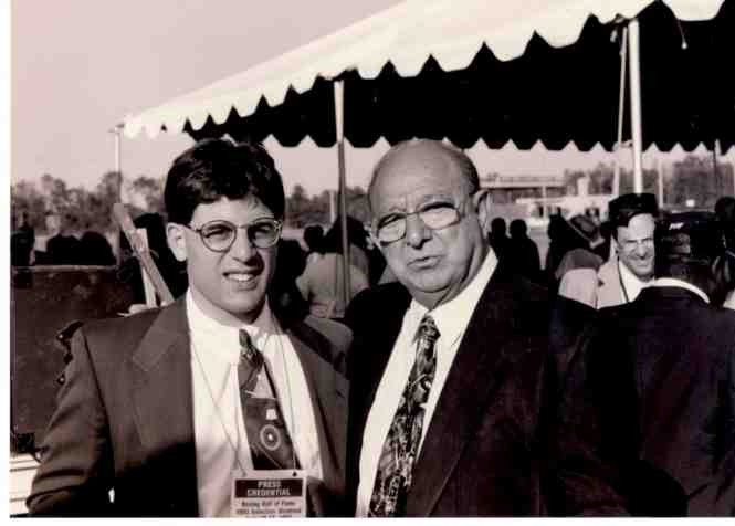Alex Rinaldi with legendary trainer Angelo Dundee