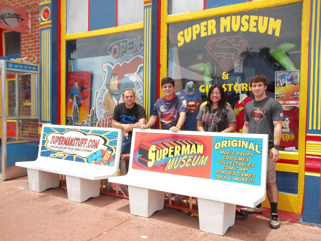 Ousdie the Super Museum