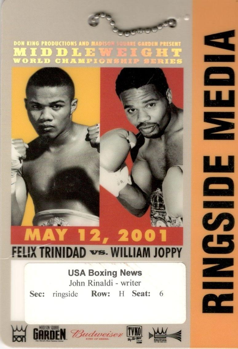 Trinidad-Joppy Press Pass
