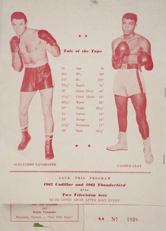 FIGHT PROGRAM CLAY-LAVORANTE.