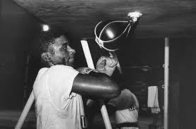 Floyd Patterson in training