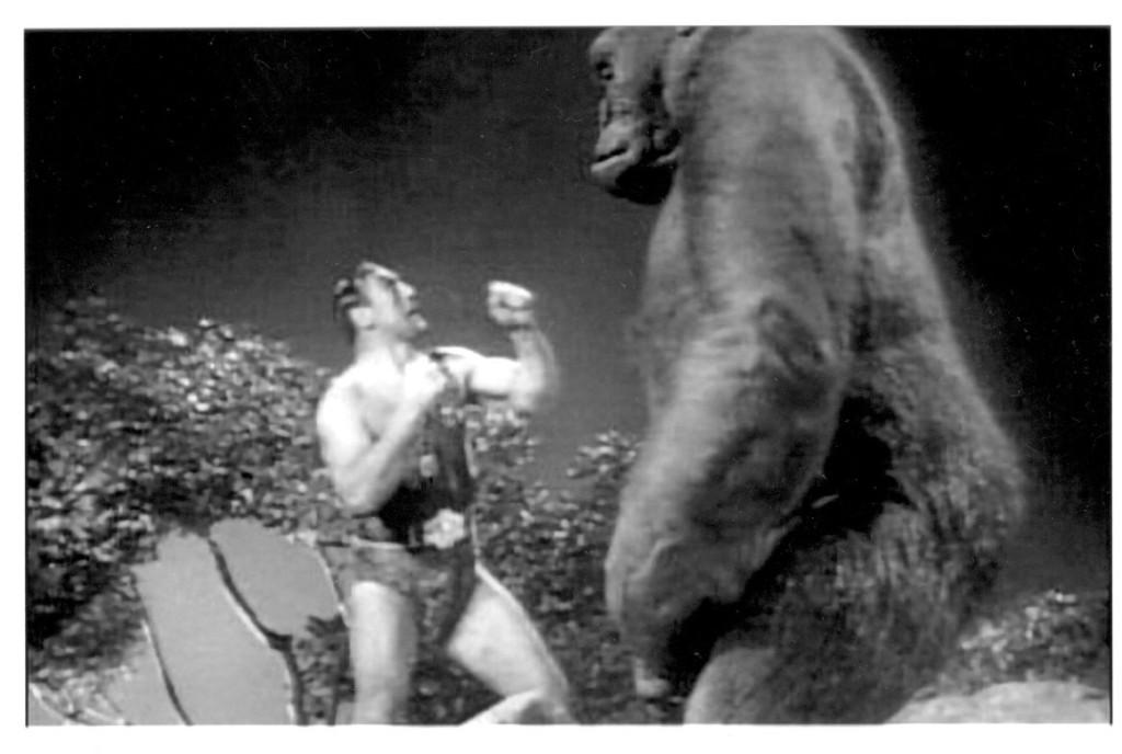Primo Carnera battles Mighty Joe Young