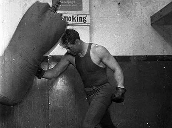 Jack Dempsey Training
