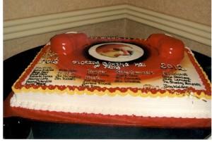 Cake Celebrating the Florida Boxing Hall of Fame 2012 Inductions
