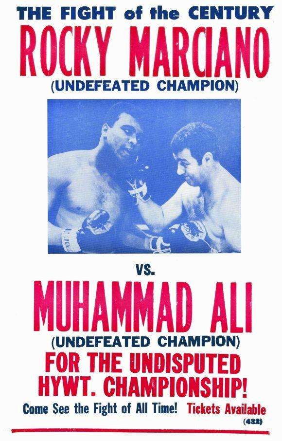 MARCIANORockyRocky Marciano vs. Muhammad Ali Super Fight Poster