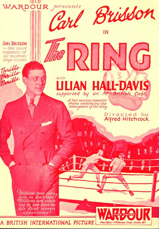 MOvieeeeMove Poster The Ring 1927 Directed by Alfred Hitchcock
