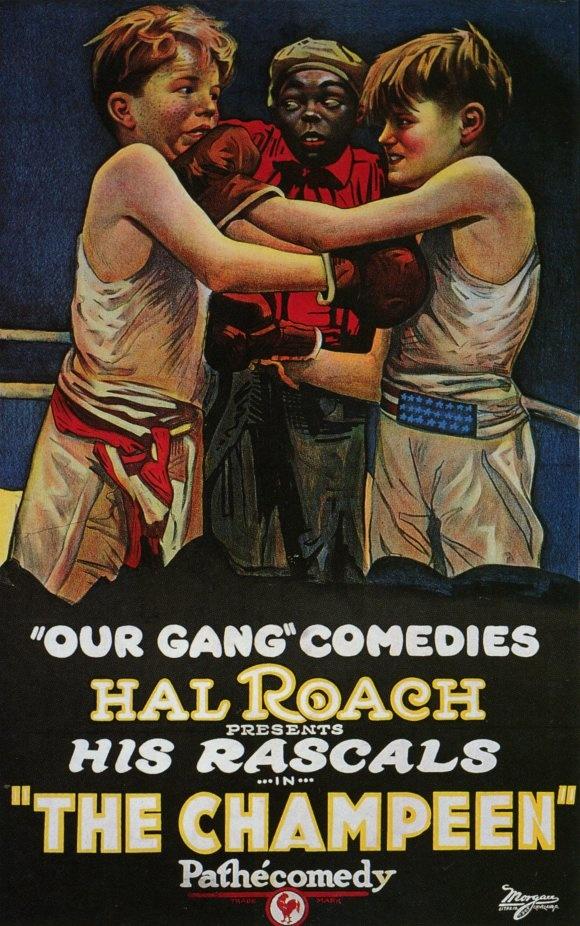 MOvieeeeMovie Poster Little Rascals The Champeen 1923