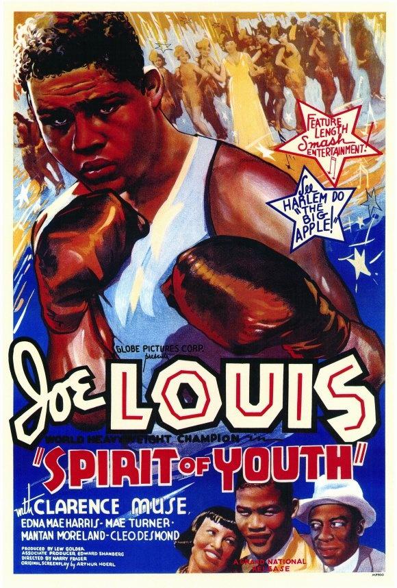 MOvieeeeMovie Poster The Spirit of Youth with Joe Louis 1937