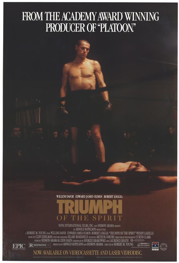 MOvieeeeMovie Poster Triumph of the Spirit 1989.
