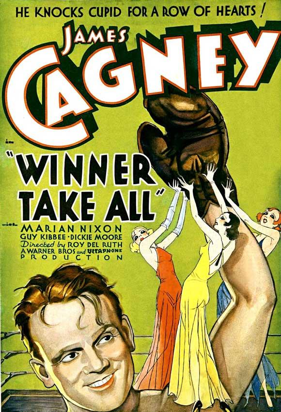 MOvieeeeMovie Poster Winner Take All 1932.