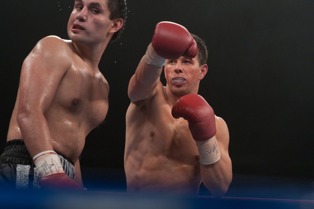 Mark Wahlberg portraying boxer Micky Ward in The Fighter