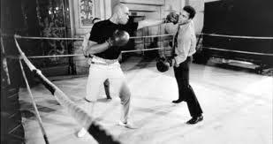 James Earl Jones with Muhammad Ali