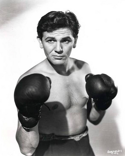 Actor John Garfield in Body and Soul
