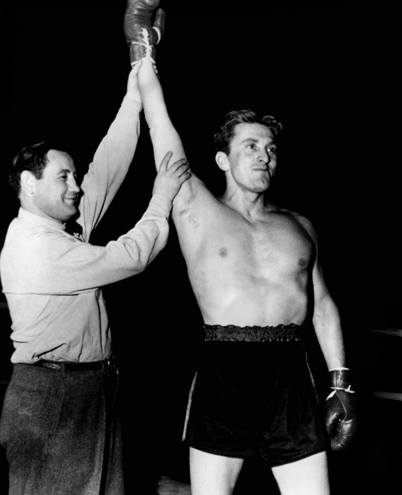 Kirk Douglas as The Champion