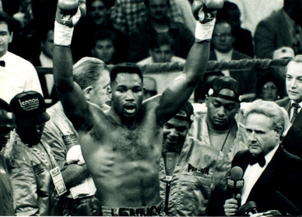 Heavyweight Champion Lennox Lewis *(PHOTO BY ALEX RINALDI)