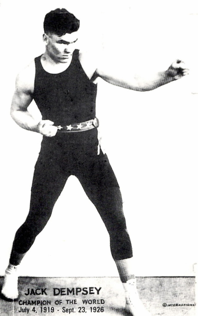 The great Jack Dempsey