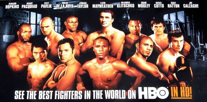 HBO lineup of fighters