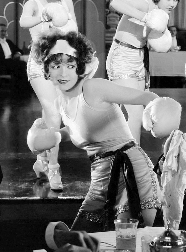 Screen legend Clara Bowe winds up with a punch.