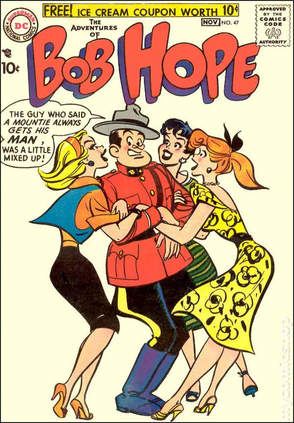 HOPEBob Hope Comics 18a
