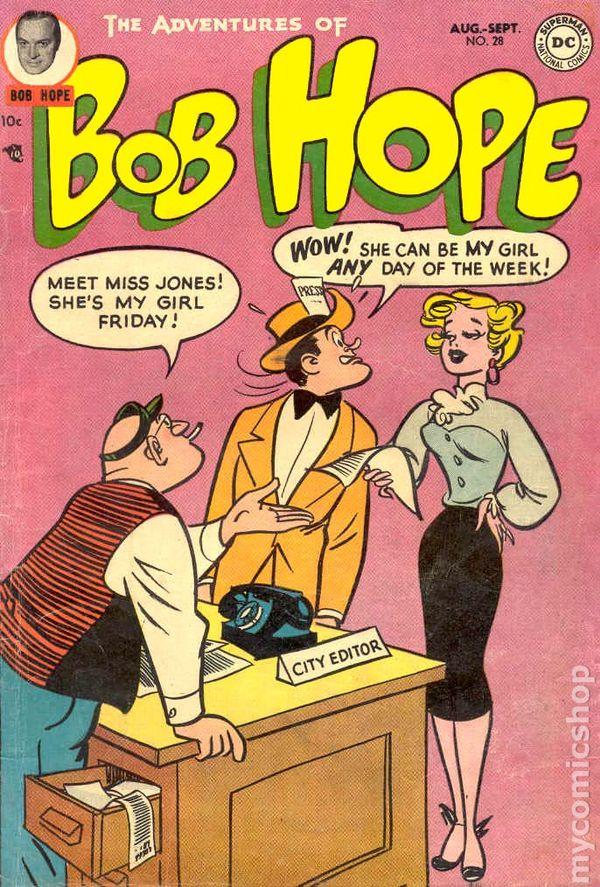 HOPEBob Hope Comics 22B