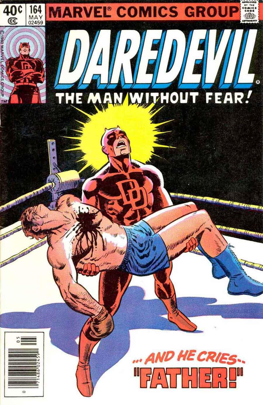NEWBoxing Comic Book Daredevil.