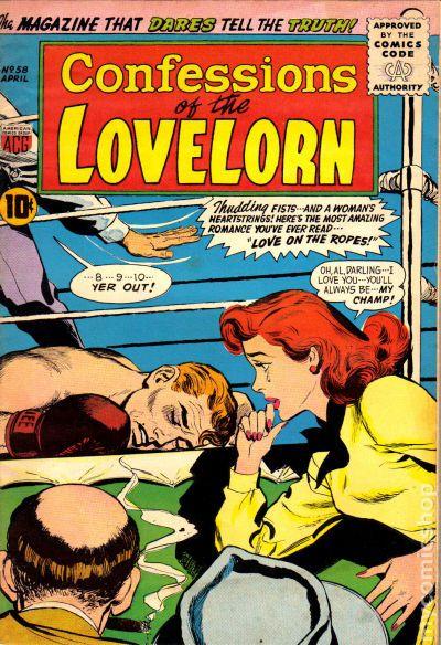 NEWBoxing Comic Book Romance.