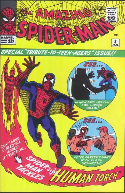 NEWBoxing Comic Book Spider-Man.