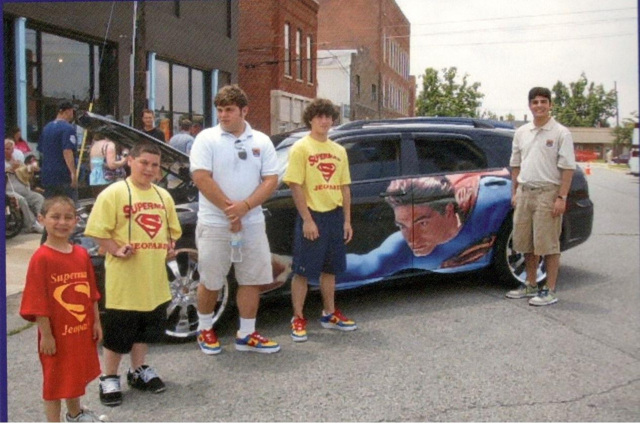Superman Celebration Cousins 5
