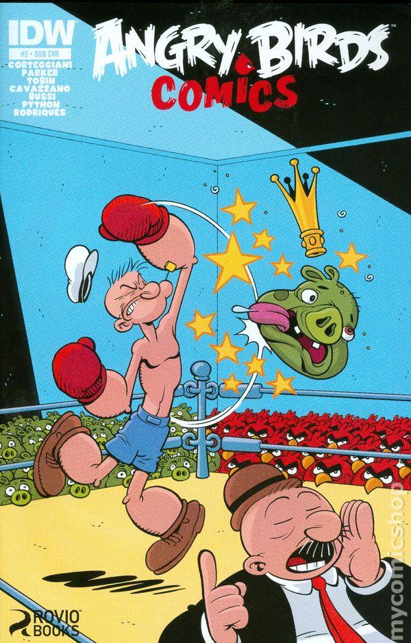 USABNWEBNOVComic Book Popeye