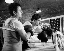 Joe Pesci and Robert De Niro in Raging Bull