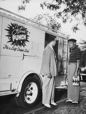 Joe Louis and Joe Louis Punch Truck.