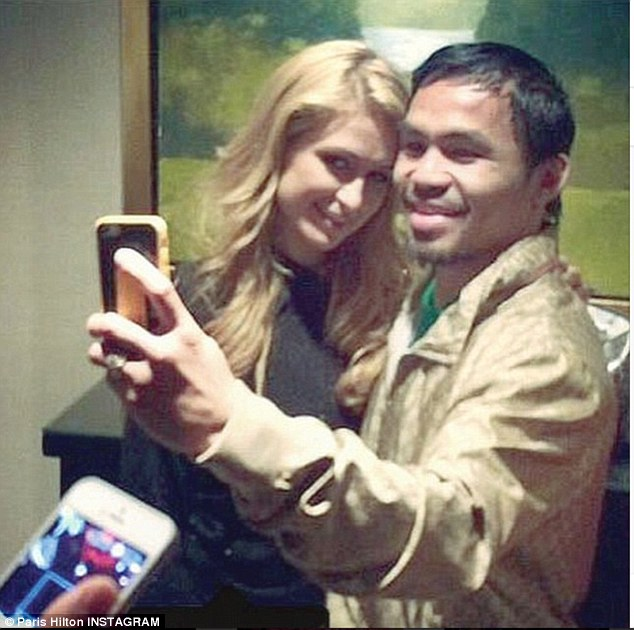 Paris Hilton and Manny Pacquiao.