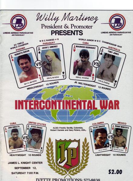 Fight Program - Duran