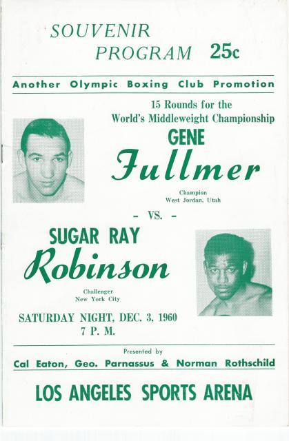 Fight Program - Fullmer-Robinson III.