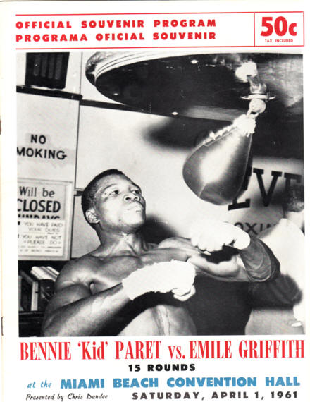 Fight Program - Griffith-Paret I.