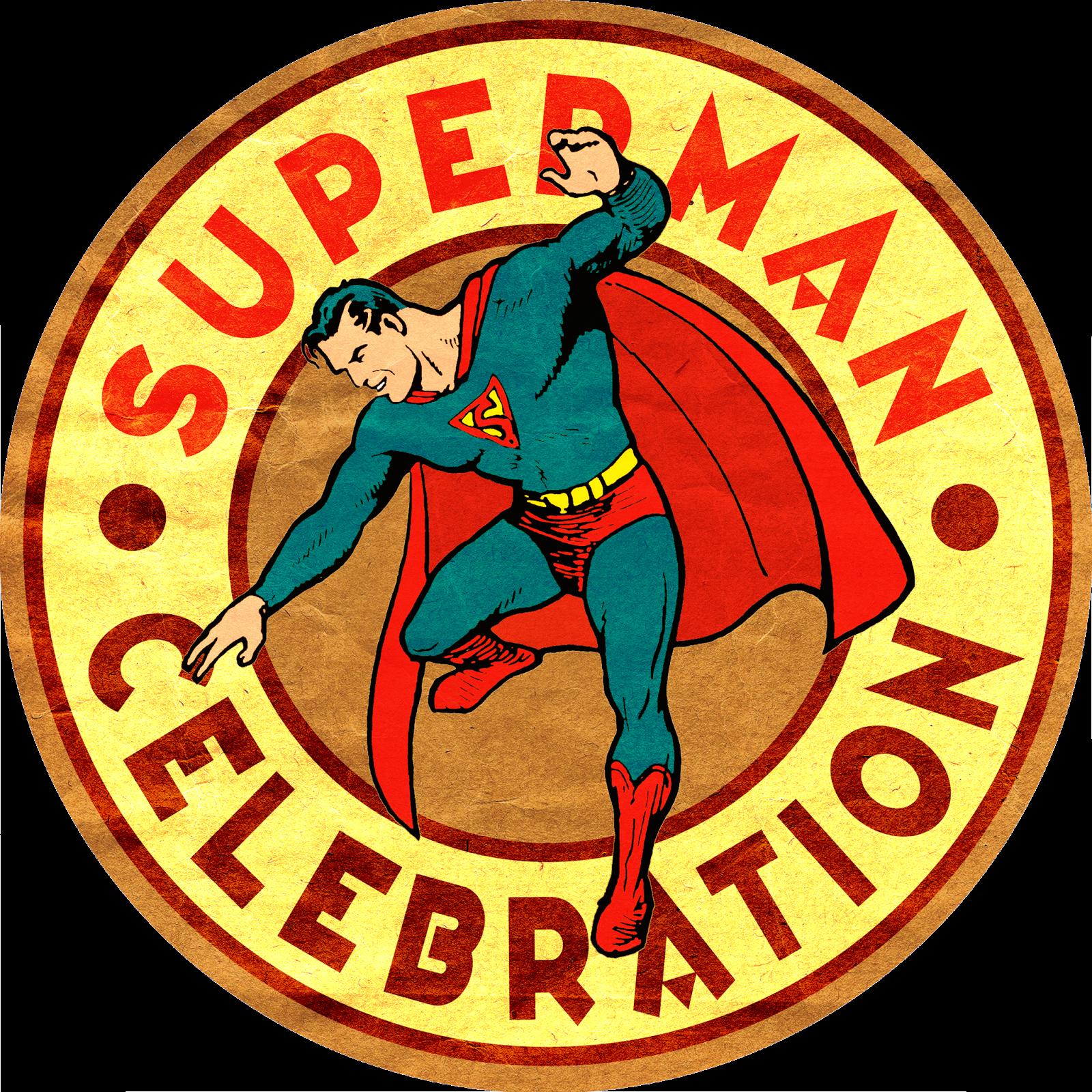 Superman Celebration Circle Good Quality