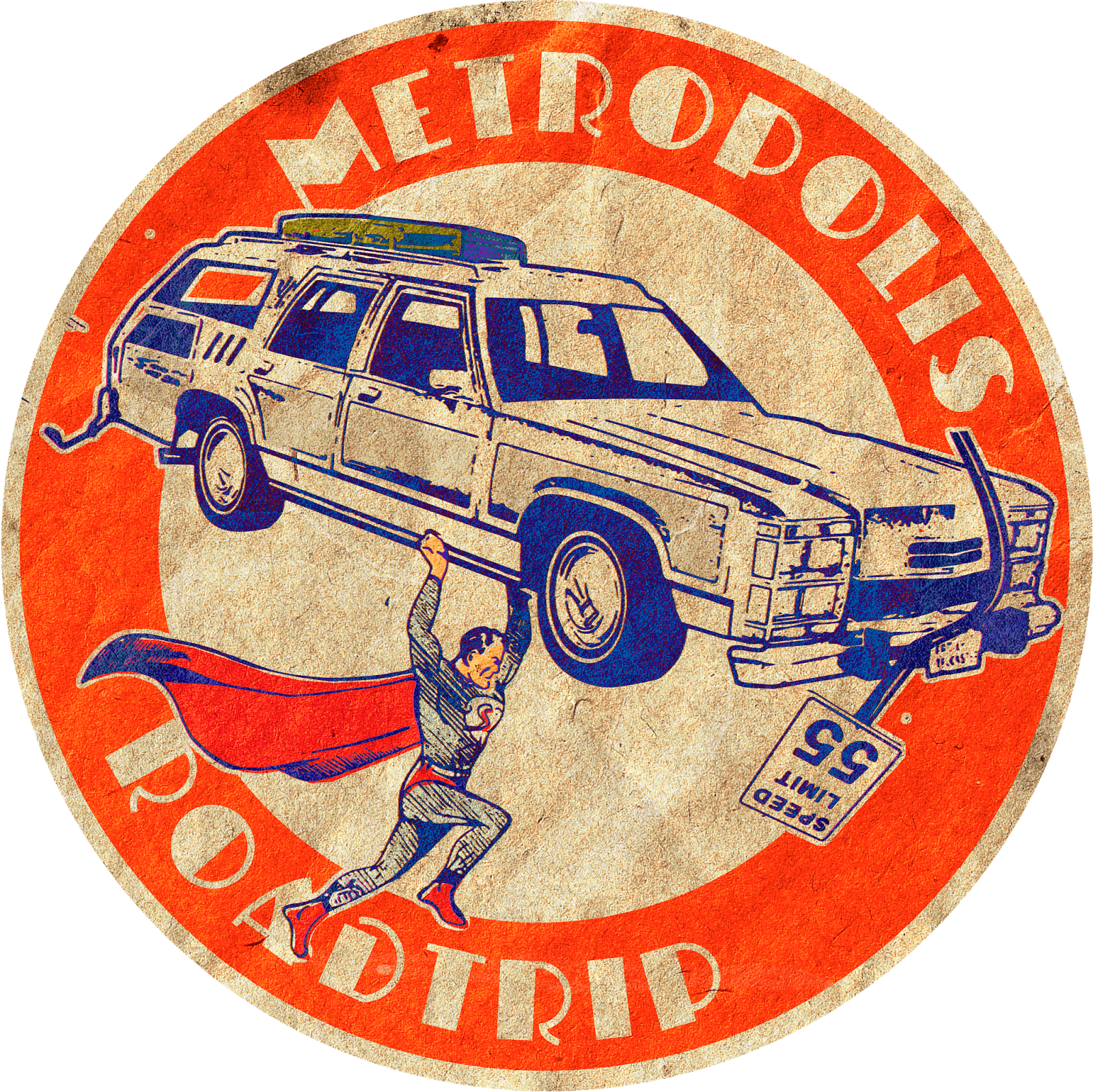 Superman Celebration Logo
