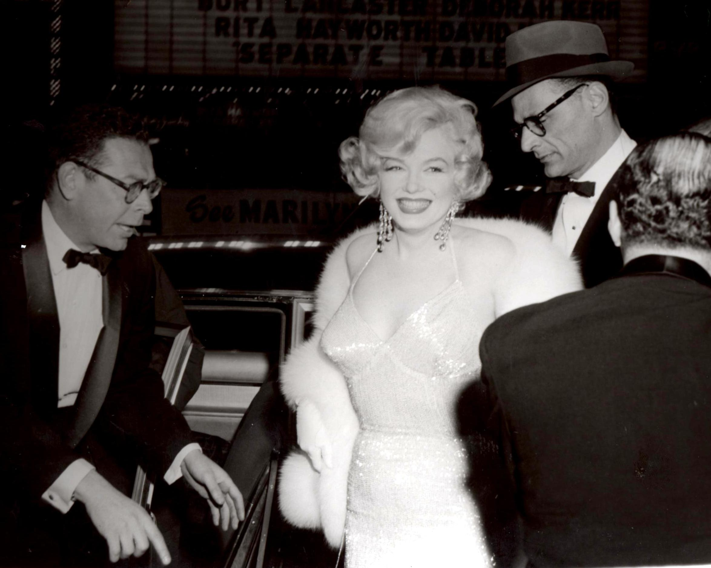 Marilyn Monroe and Arthur Miller (PHOTO BY BARRY TAUB)
