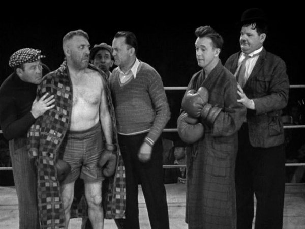 WEBBY Laurel and Hardy Boxing 2.