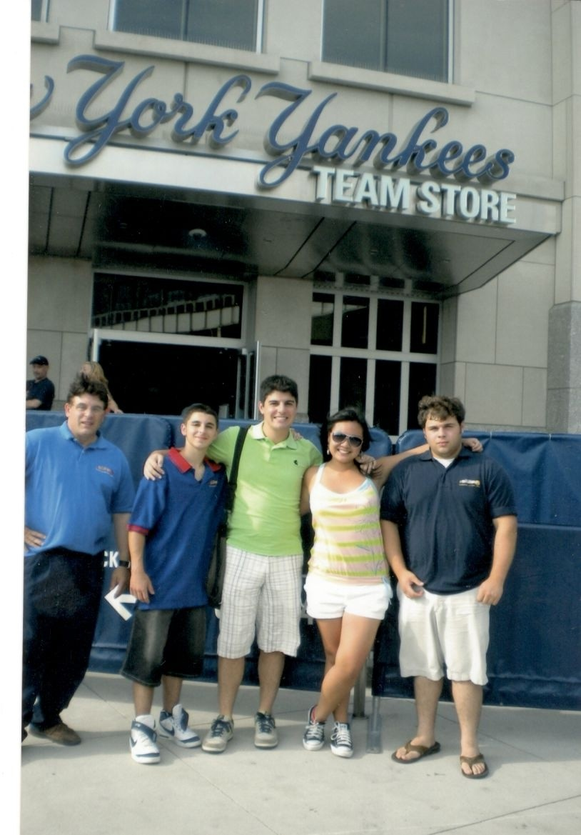 Yankee Stadium Fights - Alex Rinaldi, Mario Ardolino, Joseph Rinaldi, Janine Rinaldi and Ron John Rinaldi.